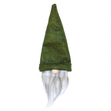 green gnome wine bottle hat