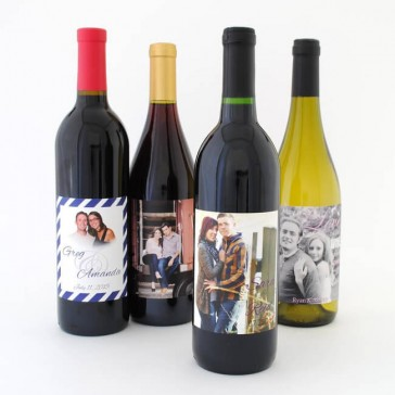 Personalized Wine Labels with Your Photo