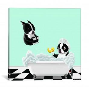 Bath Time by Brian Rubenacker - 18''x18''