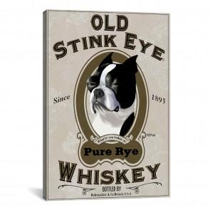 Old Stink Eye Whiskey by Brian Rubenacker - 8''x12''