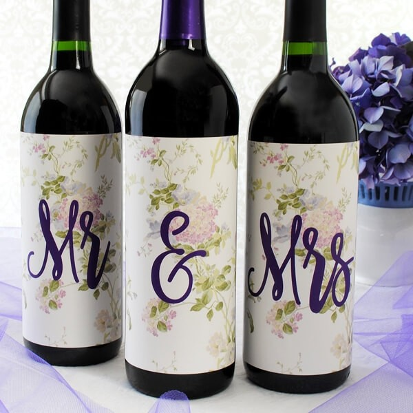 Large Wine Label By Bottleyourbrand