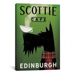Scottie Cafe by Ryan Fowler - 26''x40''
