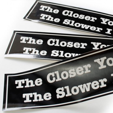 UV Coated Bumper Stickers