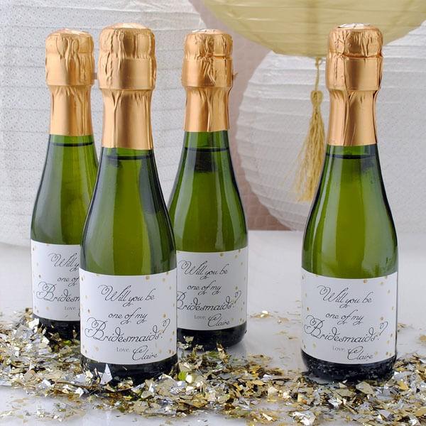 Mini Wine Label By Bottleyourbrand