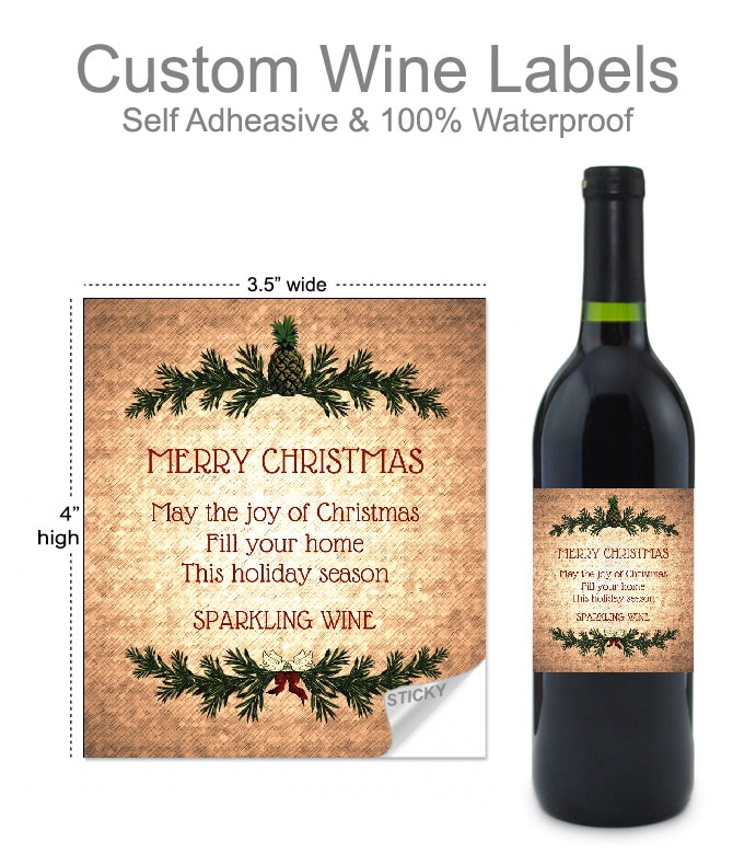 Rustic Wine Label By BottleYourBrand