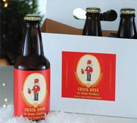 Make Your Own Holiday Beer Labels