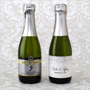 187ml Barefoot Bubbly labels