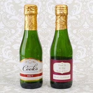187ml Cooks bottle labels