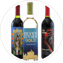 Make Large Wine Labels