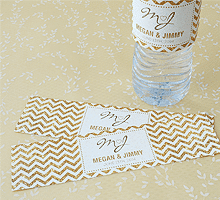 Wedding Favor Water Bottle Labels