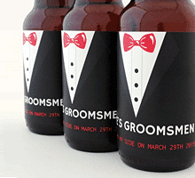Personalized Wedding Beer Labels