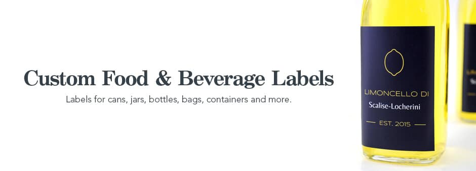 Custom Food & Beverage Labels