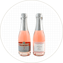 Make Mini Champagne Labels