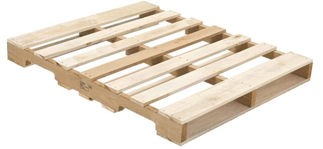 standard size pallet for bottles of water