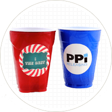 Make Party Cup Labels