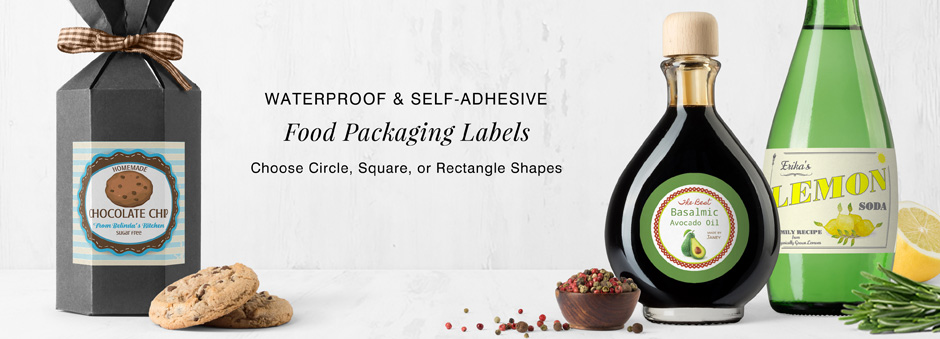 Custom Food & Beverage Labels