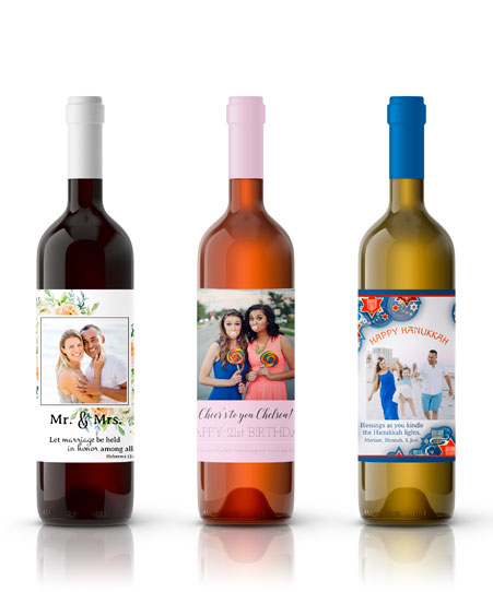 photo wine labels