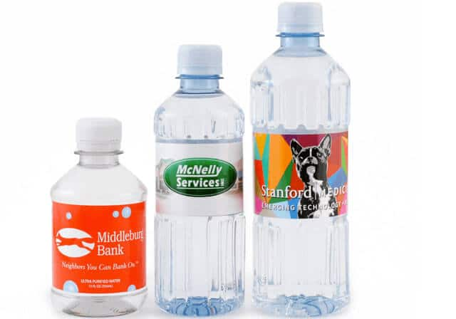 Pallets Of Custom Bottled Water From Bottleyourbrand