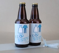 Make Wedding Beer Labels