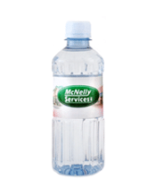 12 oz. custom labeled bottled water