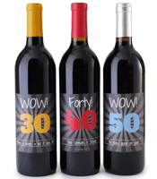 wine labels for special occasions