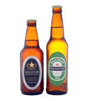 oval beer labels