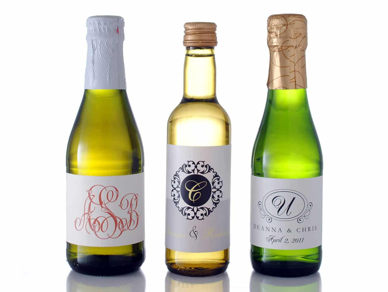 How To Choose The Correct Mini Wine Label Size - BottleYourBrand