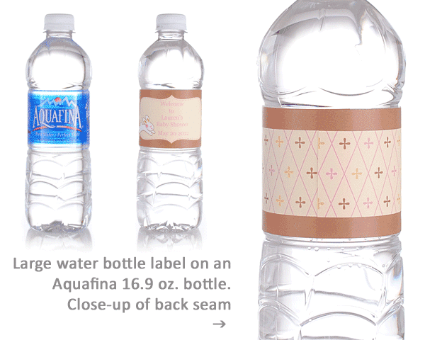 What bottles do our water bottle labels fit bottleyourbrand