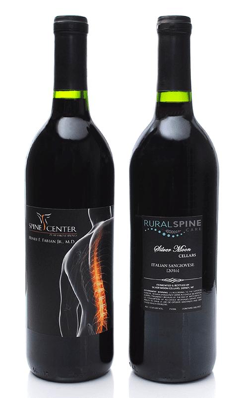 back labels for wine bottles bottleyourbrand