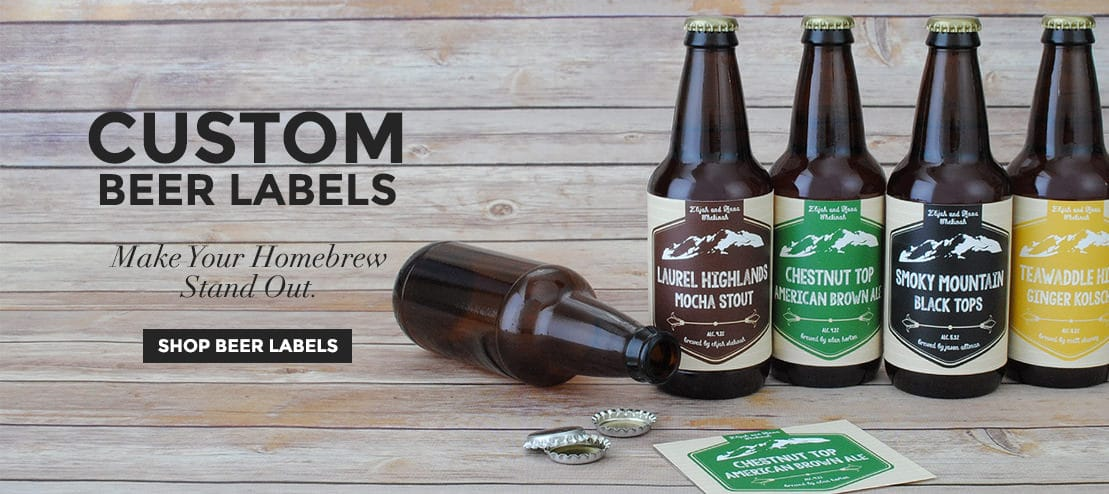 Custom Beer Labels by Bottleyourbrand.com