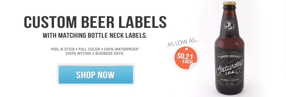 Custom Beer Labels by BottleYourBrand