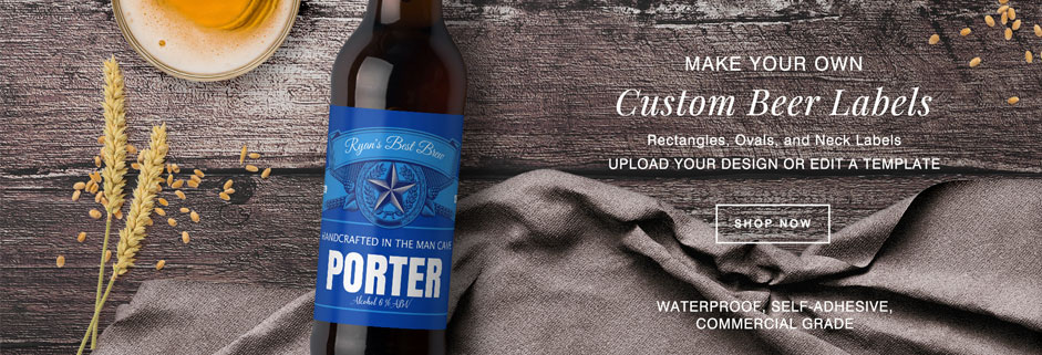 make your own custom beer labels