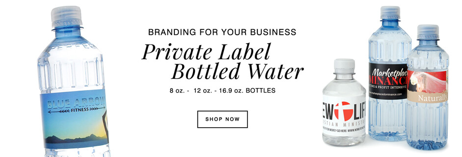 make your own custom label bottled water