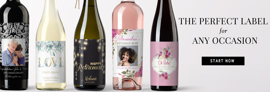 Personalized labels for any special occasion