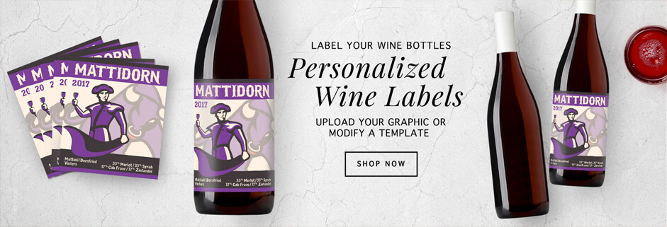 wine labels you can personalize