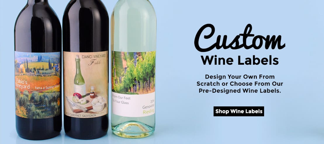 Custom Wine Labels by Bottle Your Brand
